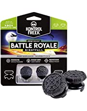 KontrolFreek FPS Freek Battle Royale Nightfall for Xbox One and Xbox Series X Controller   Performance Thumbsticks   2 High-Rise Convex (Domed)   Black