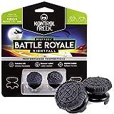 KontrolFreek FPS Freek Battle Royale Nightfall Performance Thumbsticks for Xbox One and Xbox Series X | Performance Thumbsticks | 2 High-Rise Convex | Black