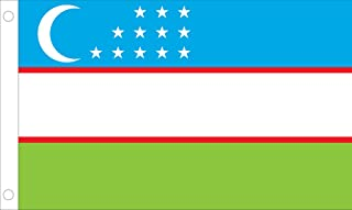 Allied Flag 户外尼龙 乌兹别克斯坦 联合国国旗 5 到 8 英尺 60-100-51204