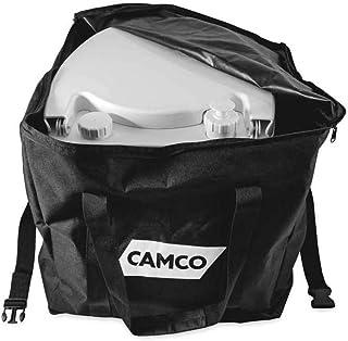 Camco 41530 Tragbare WC Aufbewahrungstasche – sicher verstaut und schützt Ihre tragbare Toilette – kompatibel mit tragbaren Toiletten bis zu 14 l
