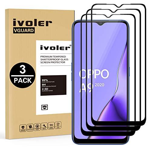 ivoler 3 Unidades Protector de Pantalla para OPPO A9 2020 / OPPO...
