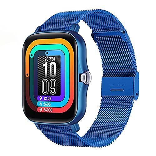 Y20 Smart Watch Ladies 1.7 Pulgadas Presión Arterial Tasa Del Corazón Reloj Inteligente Reloj De Fitness De Los Hombres Pedómetro A Prueba De Agua Reloj Deportivo P8 Plus Bluetooth Smart Watch,D