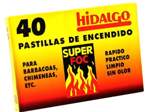 CAJA 40 PASTILLAS DE ENCENDIDO