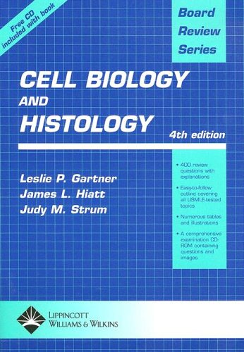 Board Review Series Cell Biology and Histology (Book with CD-ROM)
