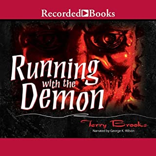 Running with the Demon audiobook cover art