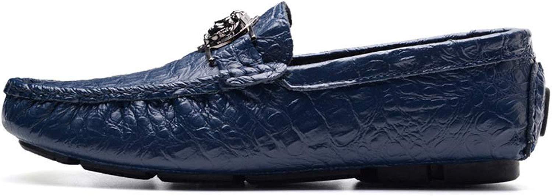 Dilunsizrf Sautope da Barca Sautope Casual Grei Set di Sautope Calzature Moda per Uomo Sautope Outdoor,blu,43
