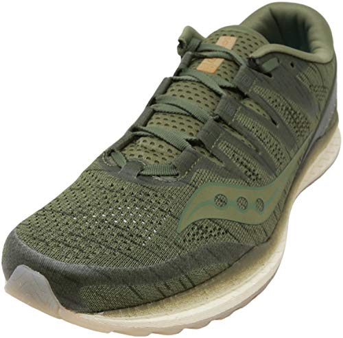 Saucony Men's Freedom ISO 2, Olive, 11 D