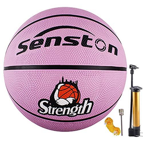 Senston Kinder Basketball Größe 5 Basketbälle Arena Training Kinder Anfänger Gummibasketball
