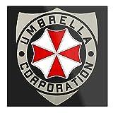 Insignia de la marca Umbrella Corporation con logotipo de Residente Evil – Imprimir un póster tipográfico moderno para niña, diseño de oficina