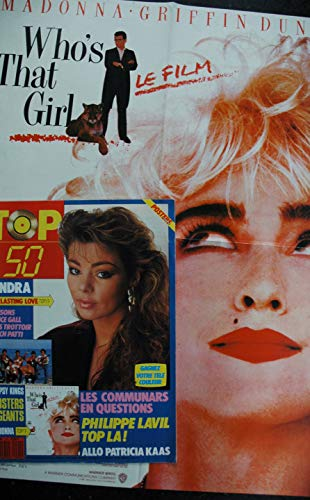 TOP 50 091 1987 11 COVER SANDRA POSTERS GEANTS MADONNA WHO\'S THAT GIRL COMMUNARDS PHILIPPE LAVIL KAAS