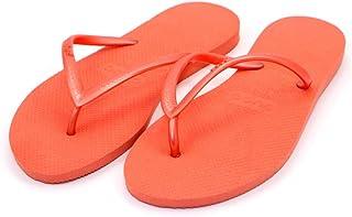 Dupe Orange Flip Flop Thong Design Slipper for Women