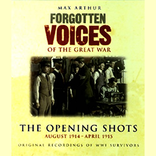 The Opening Shots audiobook cover art