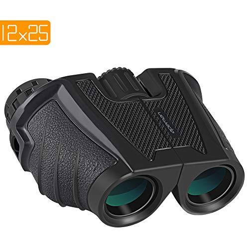APEMAN 12X25 Compact Binoculars for Adults and Kids Folding Lightweight Binoculars with...