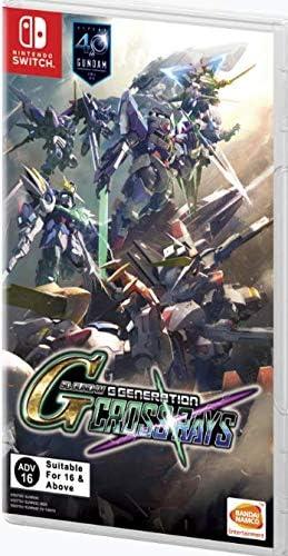 SD Gundam G Generation Crossrays English Nintendo Switch product image