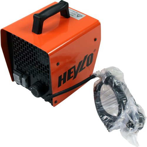HEYLO Heizlüfter Elektroheizer Heizgerät Heizgebläse DE2XL
