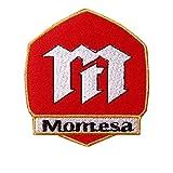 Montesa Racing Motorcycle Cafe Racer parche patch bordado con logotipo para planchar de hierro en apliques de recuerdo de accesorios