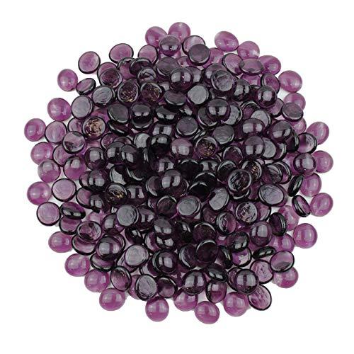 Gemnique Standard Glass Gems - Purple (48 oz.)