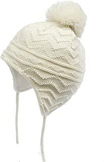 Baby Beanie Warm Hat-Infant Boys Hat Cute Bear Knit Toddler Girls Earflap Soft Warm Fall Winter