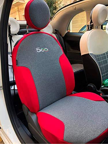 Funda para asiento de coche apta para 500 2007-2019 ( especificar asiento completo o dividido)