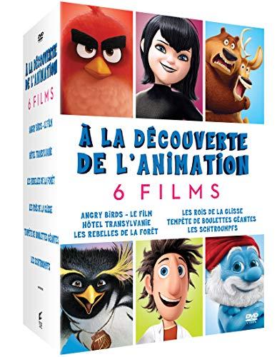 A La Decouverte De L'Animation 6 Films