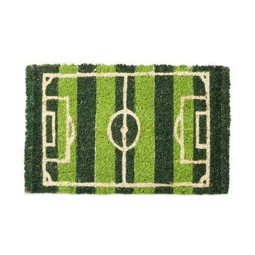 Relaxdays Calcio Zerbino per Ingresso in Fibra di Cocco, PVC, Multicolore, 1.5 x 40 x 25 cm