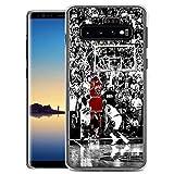 Compatible con Samsung Galaxy S6 Funda diseño de patrón,Transparente Delgado Suave TPU Silicona a Prueba de Golpes,Funda para Samsung Galaxy S6 (BNHG1400007)