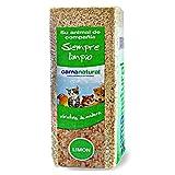 MovilCom® - Trucioli di legno per animali domestici, biancheria da letto, segatura per animali, 100% naturale aroma limone, 1 kg