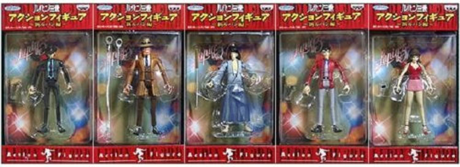 Alle fnf III Action-Figur neue Lupin Lupin Ausgabe (Japan-Import)