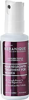 Keranique Minoxidil Topical Solution 2% Hair Regrowth Treatment, 2 fl. oz.
