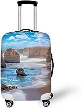 DKISEE Travel Luggage Cover Twelve Apostles Australia Washable Suitcase Protector Baggage Covers Spandex Elastic Dustproof 18-32 Inch