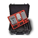mc-cases® - Valigia per DJI Mini 2 e Accessori. Edizione Explorer per Il Fly More Combo....