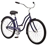 Schwinn Huron Men's Cruiser Bike Line, Featuring 17-Inch/Medium Steel Step-Over Frames, 1-3-7-Speed...
