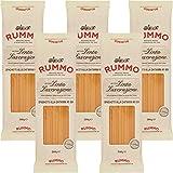 Spaghetti Quadrati alla Chitarra   Rummo   5kg Maxi Formato   Pasta   Grano 100% Italiano   Confezione 10 Pacchi da 500gr   Eccezionale Tenuta alla Cottura   Idea Regalo