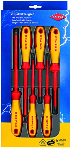 Knipex 00 20 12 V01 Screwdriver Set (6 Piece)