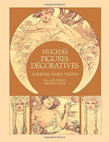 Mucha's Figures Décoratives (Dover Fine Art, History of Art)の詳細を見る