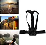 Navitech Adjustable Elastic Body Harness Strap = Compatible with The Accfly 4K Action Camera