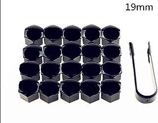 20 Noir Ecrou roue vis m12x1.5x34 cône kegelbund 60 ° sw17