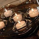 New Sky Juego de 12 candelabros flotantes para decoración de boda,...