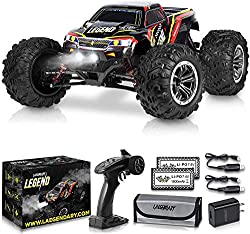 1:10 Scale Large RC Cars – Boys Remote-Control Off-Road Monster Truck