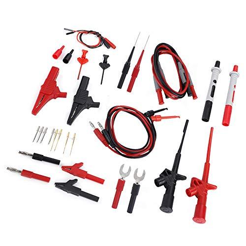 Juego de cables de prueba para multímetro P1600D, prueba de multímetro, para medidor de instrumentación