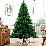 PZFC Árbol de Navidad Artificial Árbol de Navidad Desnudo árbol simulación Verde Bricolaje Decoraciones de Navidad Árbol de Navidad Artificial 1/1. 2/1. 5/1. 8/2. 1/2. 4 Metros Árbol de Navidad de S