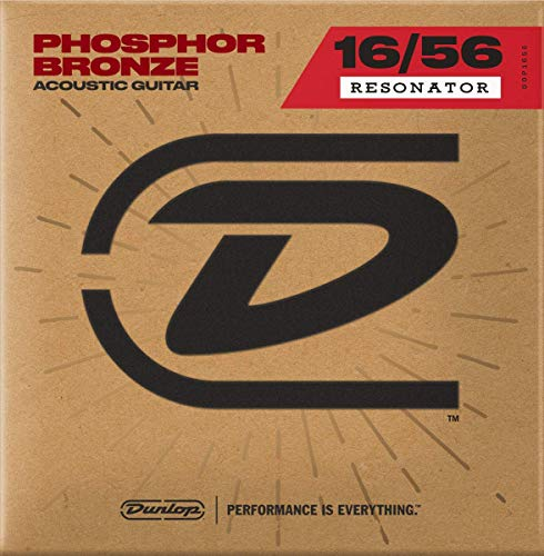 Dunlop DOP1656 Resonator-Saiten aus Phosphor, 7 Stück