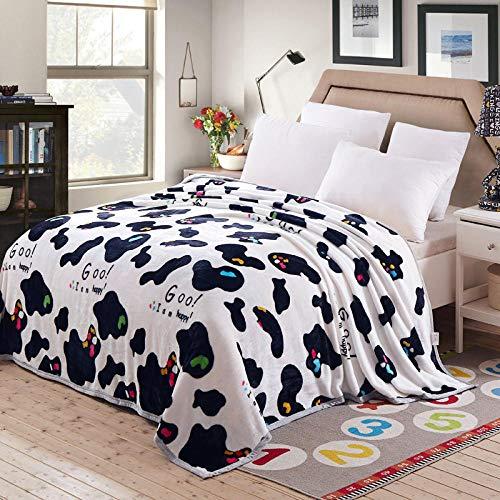 Asbecky Mantas Cubre Sofas Manta de Lana de Franela Manta para el hogar, Manta mullida, Manta cálida para sofá y Cama-3_Los 230x250cm