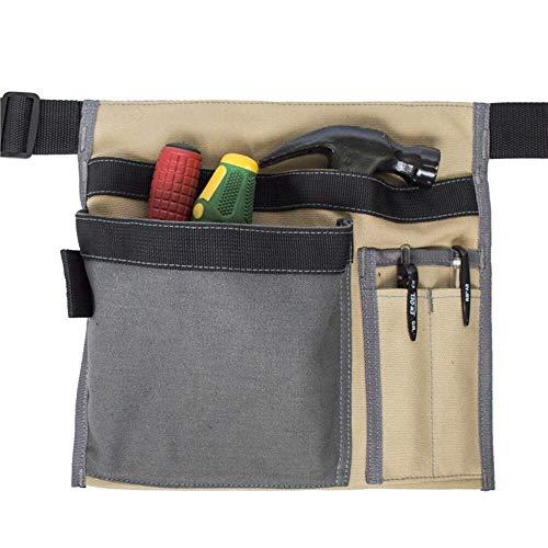 Bricolaje y herramientas Cuadrados portátiles de almacenamiento de herramientas de fontanería de la cintura bolsa de mano Tela Organizador for los kits de herramientas de mano Alicates Destornillador