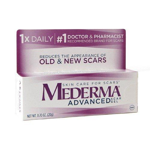 Mederma Advanced Scar Gel 0.7 oz (20 g) package of 2