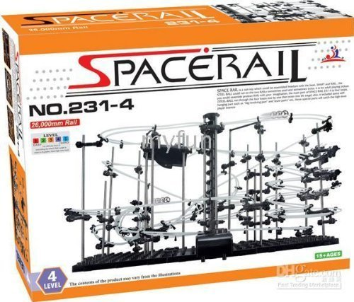 Spacerail /Spacewarp Level 4/Spacerail Level 4-Roller Coster - 80ft track - The most popular level by Kids Authority