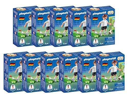 Playmobil Spar-Set 168063 Deutsche Fußball Nationalmannschaft mit Torwand und Schussfunktion