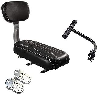companion bike seat with backrest