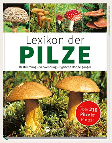 Lexikon der Pilze - Bestimmung, Verwendung, typische Doppelgänger: Über 210 Pilze im Porträt