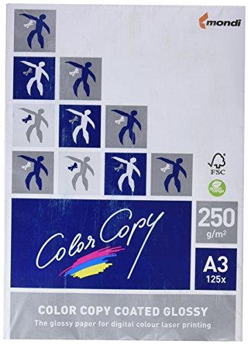 A4 170g//m2 Color Copy Laserdruckpapier coated silk 250 Blatt